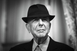 """Canadian singer and poet Leonard Cohen is pictured on January 16, 2012 in Paris. Leonard Cohen's new album """"Old Ideas"""" will be released in France on January 30. AFP PHOTO / JOEL SAGET (Photo credit should read JOEL SAGET/AFP/Getty Images)"""