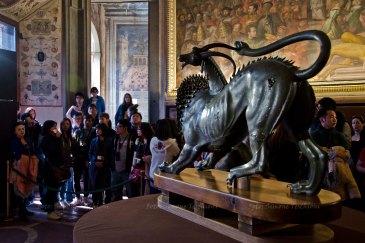G7 Culture Chimera e busto di Cosimo I n4