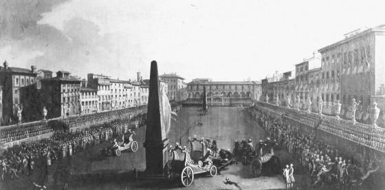 Palio dei Cocchi Piazza Santa Maria Novella
