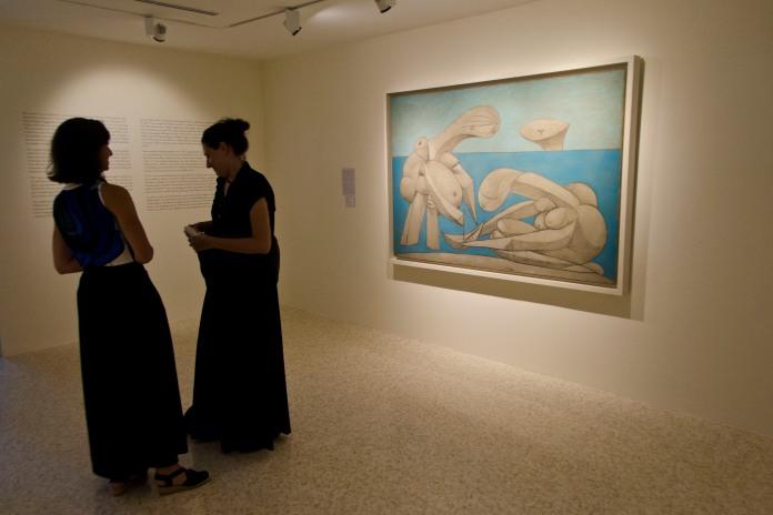 Picasso Sulla Spiagga - presentazione 3