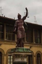 Restauro colonna della giustizia - Via Tornabuoni 2