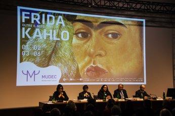 Frida Kahlo Oltre il mito - Conferenza stampa n1