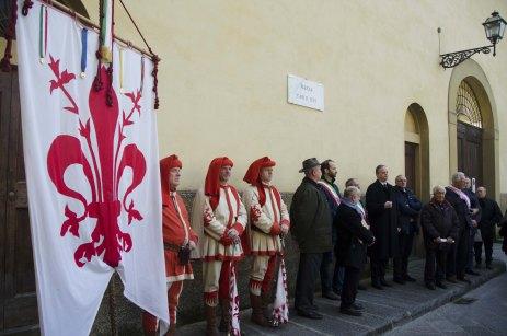 Inaugurazione Piazza Carlo Levi e Anna Maria Ichino