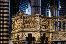 Restauro Pulpito Duomo di Siena 1