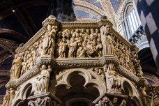 Restauro Pulpito Duomo di Siena 2