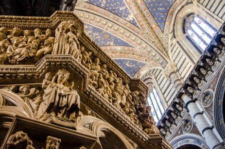 Restauro Pulpito Duomo di Siena