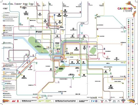Mappa Tramvia e ATAF
