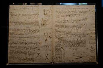 Codice Leicester di Leonardo da Vinci - Gallerie degli Uffizi 5
