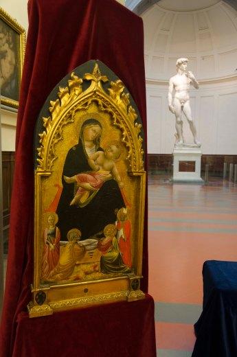 Galleria dell'Accademia - Recupero opere Niccolò di Pietro Gerini e Maestro Cappella Bracciolini 2