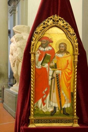 Galleria dell'Accademia - Recupero opere Niccolò di Pietro Gerini e Maestro Cappella Bracciolini 3