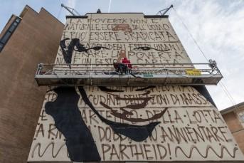 Jorit e murales Nelson Mandela 2