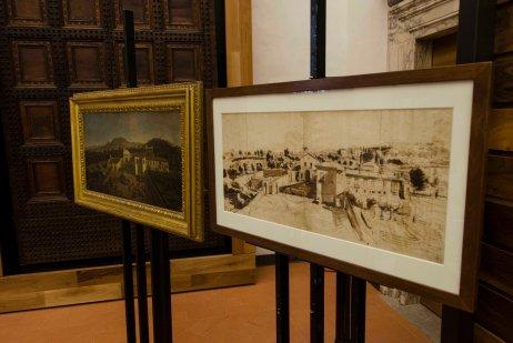 Acquisizione Uffizi disegno Van Wittell