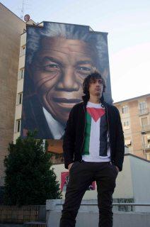 Jorit inaugurazione murales Mandela 3