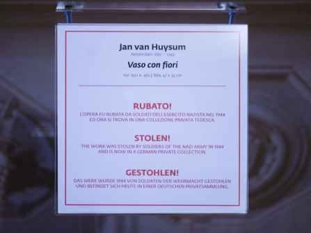 Gallerie Uffizi - Quadro Jan van Huysum 1
