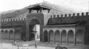 fabio borbottoni - porta alla croce (veduta interna)